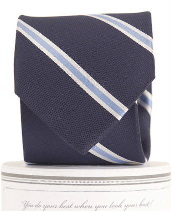Boys James Tie Navy