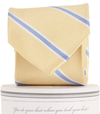 Boys James Tie Yellow
