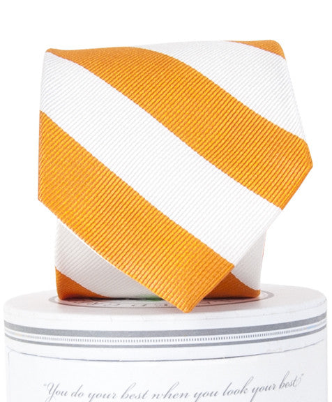 Boys Skipper Tie Orange