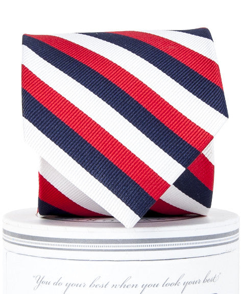 Boys USA Stripe Tie