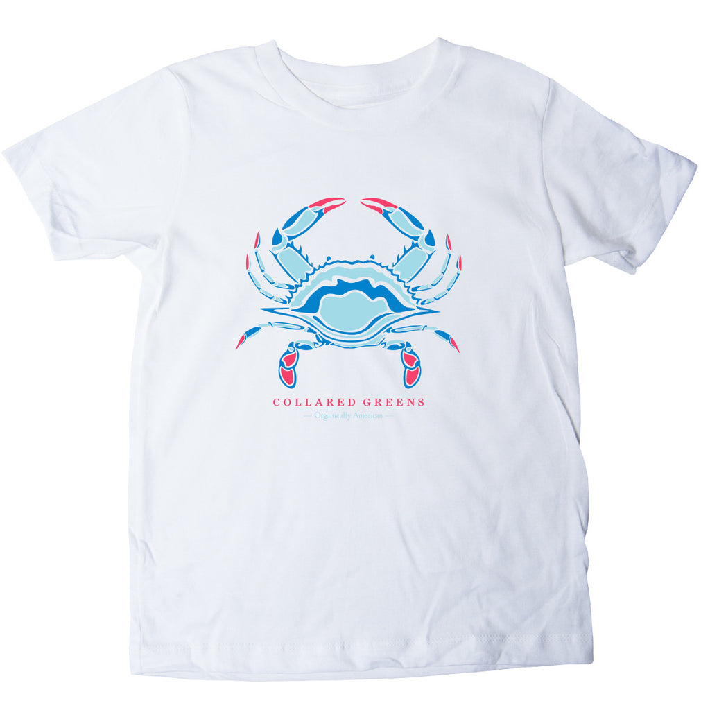 Kids Blue Crab T-Shirt