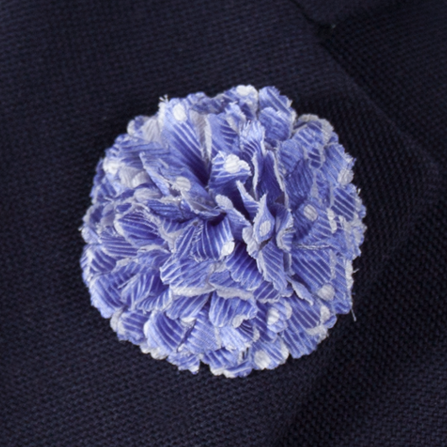 Lavender Lapel Flower Lapel Pins - Collared Greens American Made