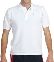 Home Grown Polo Club White Polos - Collared Greens American Made