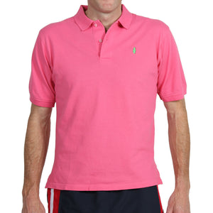 Home Grown Polo Salmon Pink Polos - Collared Greens American Made