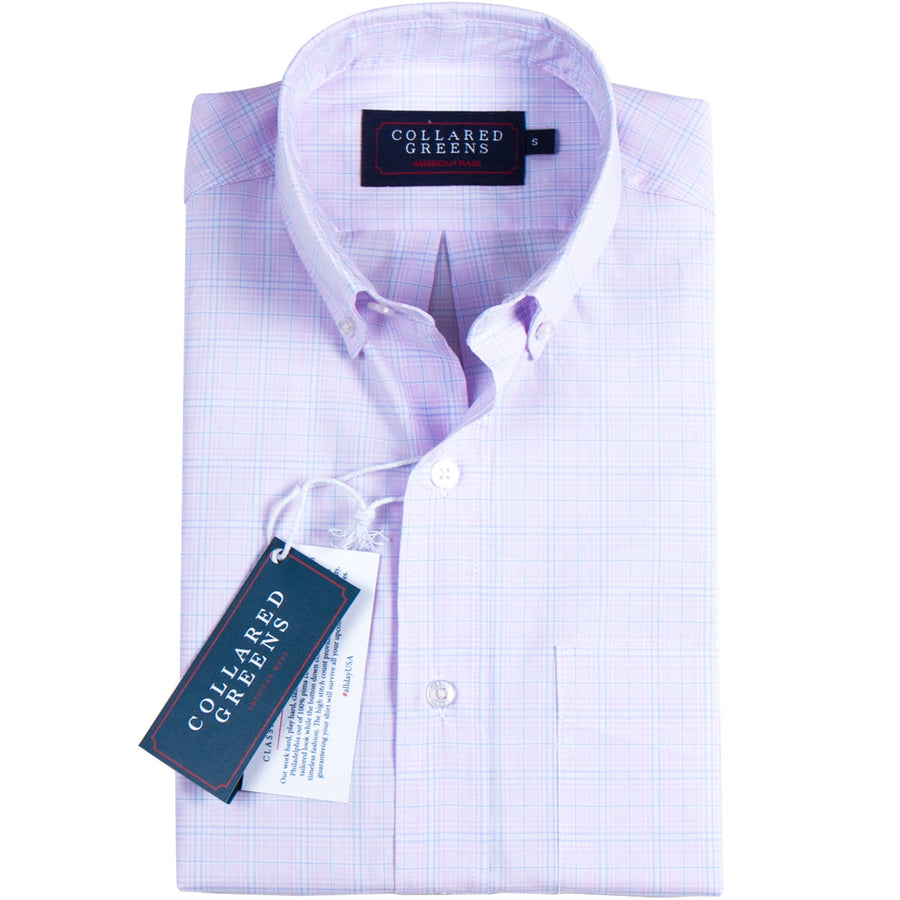 The Maymont Button Down Pink - Collared Greens