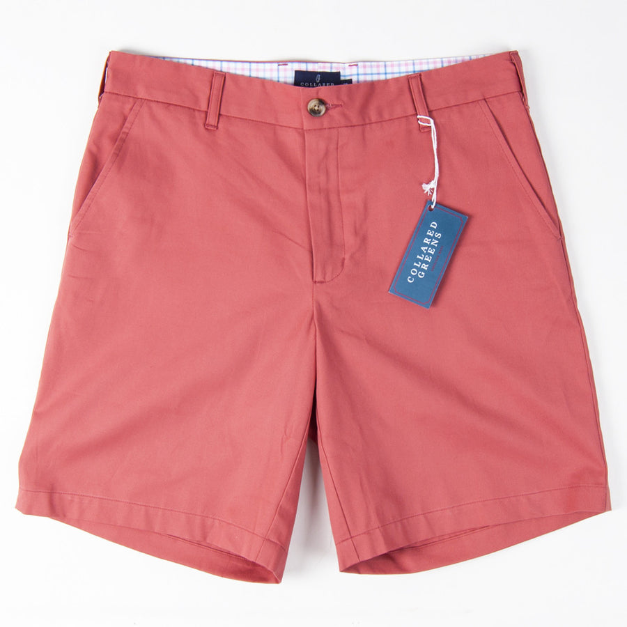 "Classic 9"" Shorts - Nantucket Red Shorts - Collared Greens American Made"