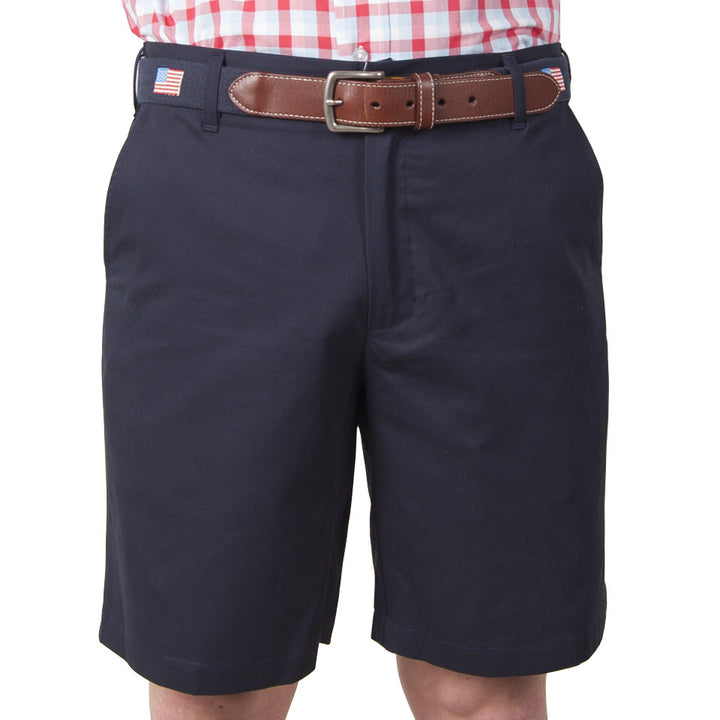 "Classic 9"" Shorts - Navy Shorts - Collared Greens American Made"