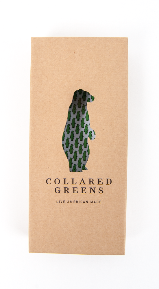 Lewis Tie Ties - Collared Greens American Made