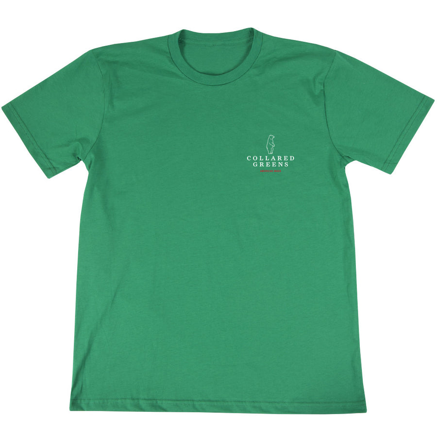 The Patron Short Sleeve T-Shirt - Limited Edition - Collared Greens