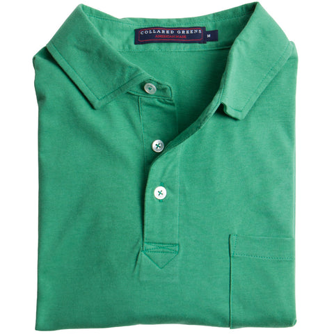 Jersey Polo Green
