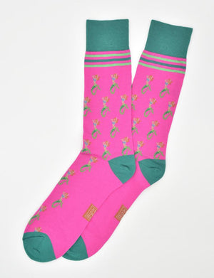 Mermaid Heaven: Socks - Fuchsia