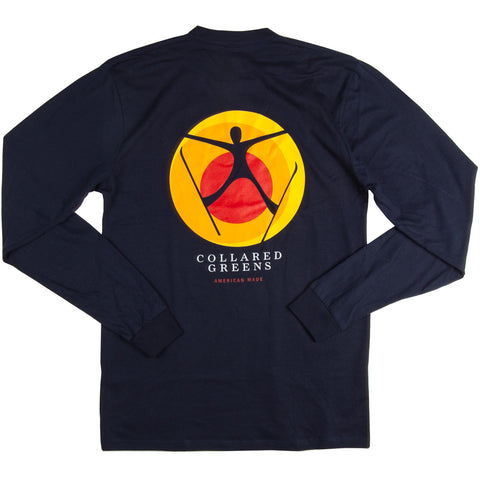 Spread Eagle LS T-Shirt Navy