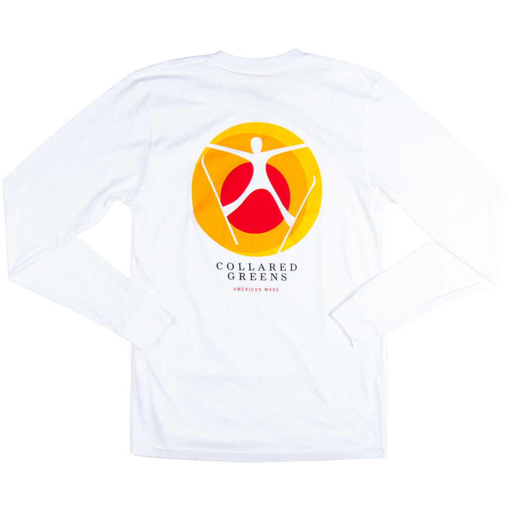 Spread Eagle Long Sleeve T-Shirt White