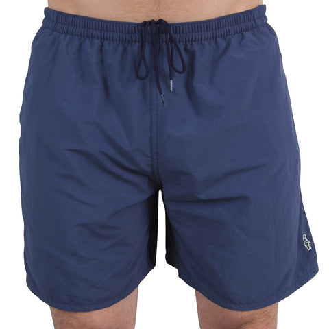 All Day USA Swim Trunks Solid Navy Swim Trunks - Collared Greens American Made