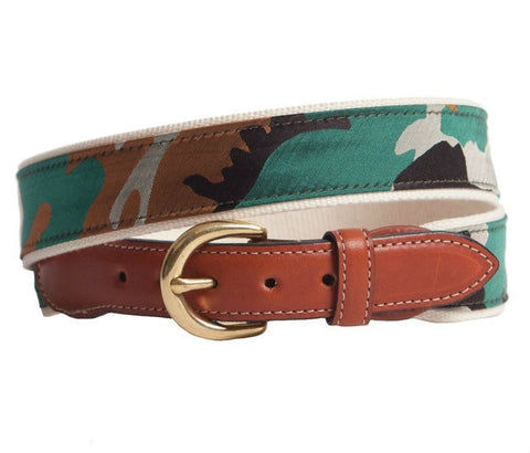 Camo Belt Belts - Collared Greens American Made