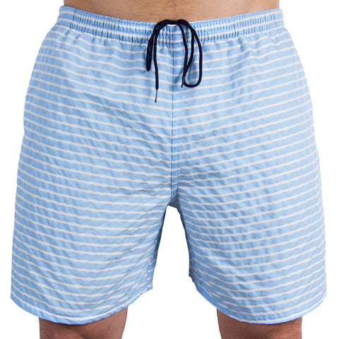 All-Day Swim Trunks Striped Carolina