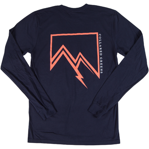 Twin Peaks Long Sleeve T-Shirt - Collared Greens