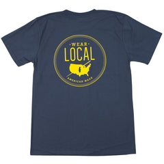 Wear Local Short Sleeve T-Shirt - Collared Greens