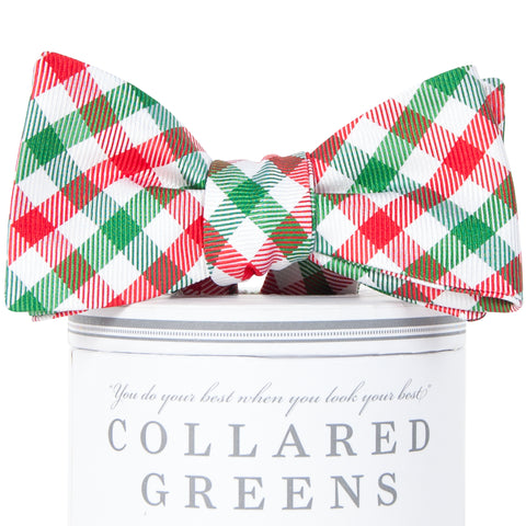 Christmas Quad Bow Tie