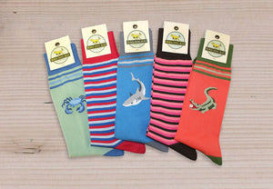 American Made Collared Greens Socks Made in the USA