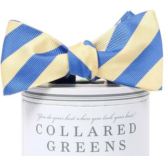 Makers Bow Tie Yellow/Blue Bow Ties - Collared Greens American Made