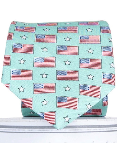 Old Glory: Boys Tie - Mint