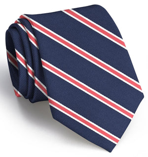 Bogart: Boys Tie - Red/Navy