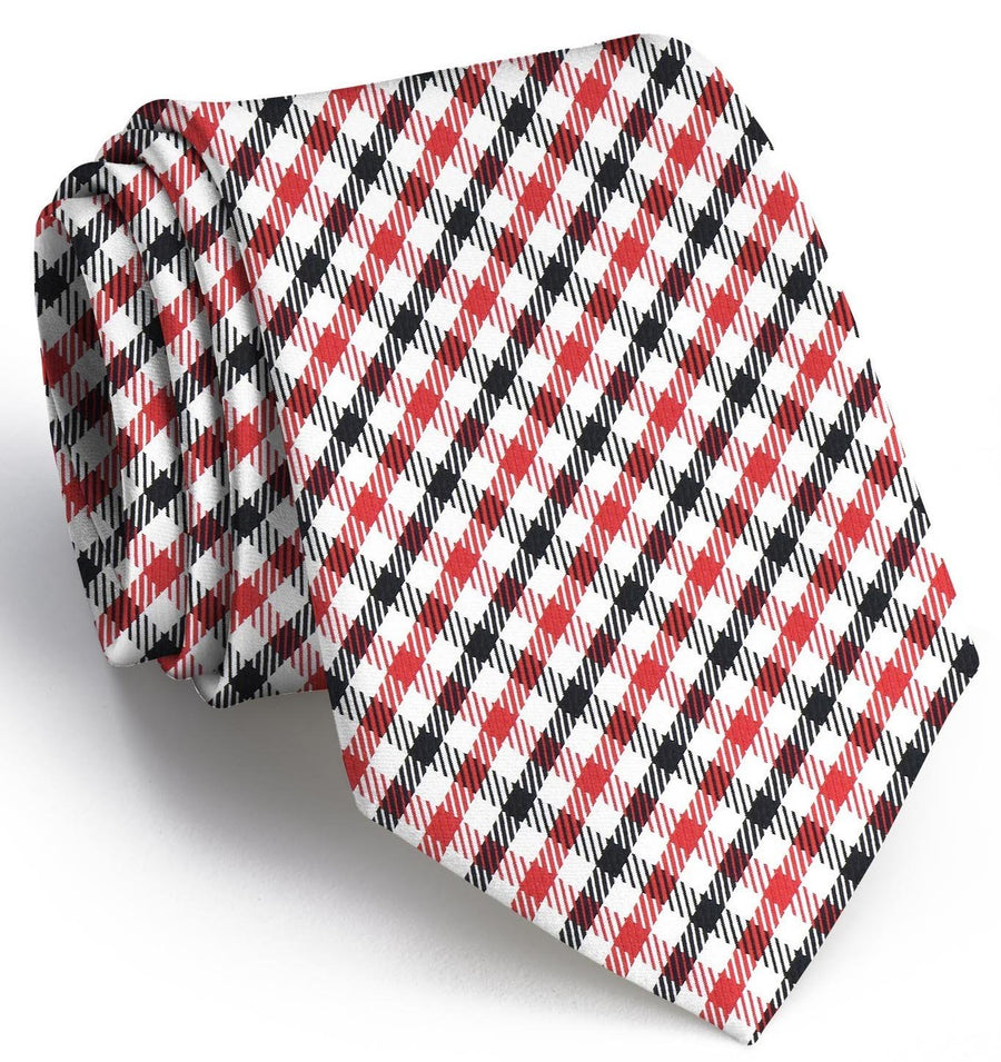 Gameday: Boys Tie - Red/Black