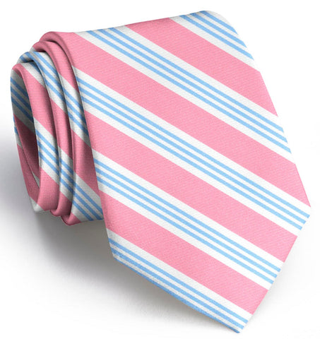 Homestead: Tie - Pink/Carolina