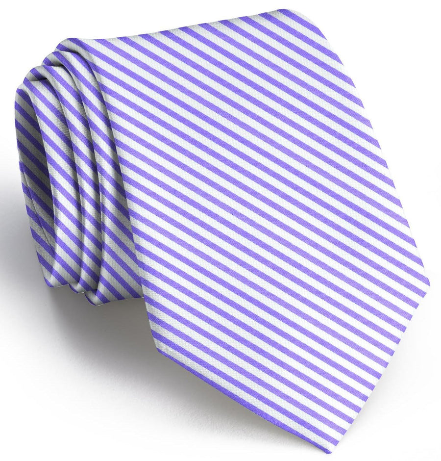 Signature Stripe: Tie - Purple