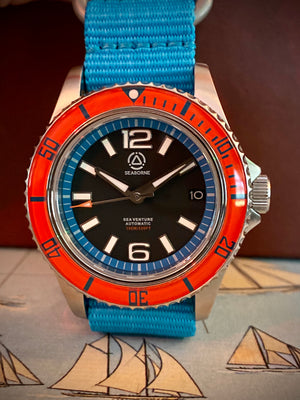 "Sea Venture Automatic - ""Sunset Bezel"""