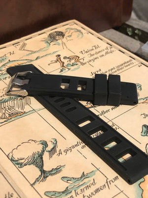 20mm Silicone Vintage-Look  Dive Straps