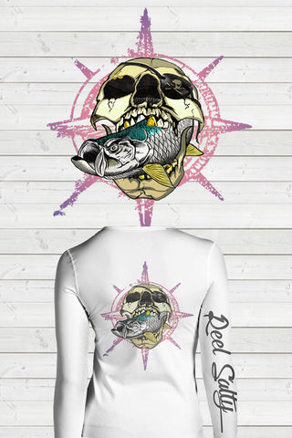 FLASH SALE - Tarpon Skull Ladies