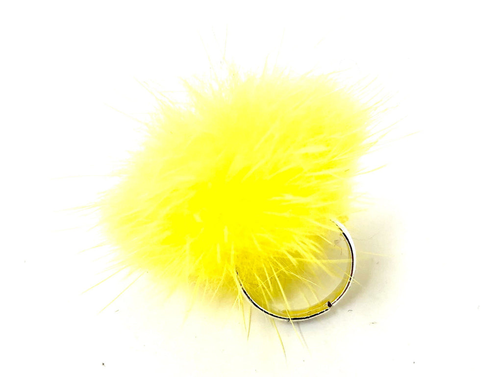 Yellow Fur Ring