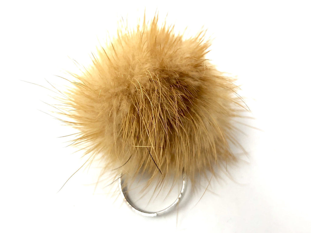 Caramel Fur Ring