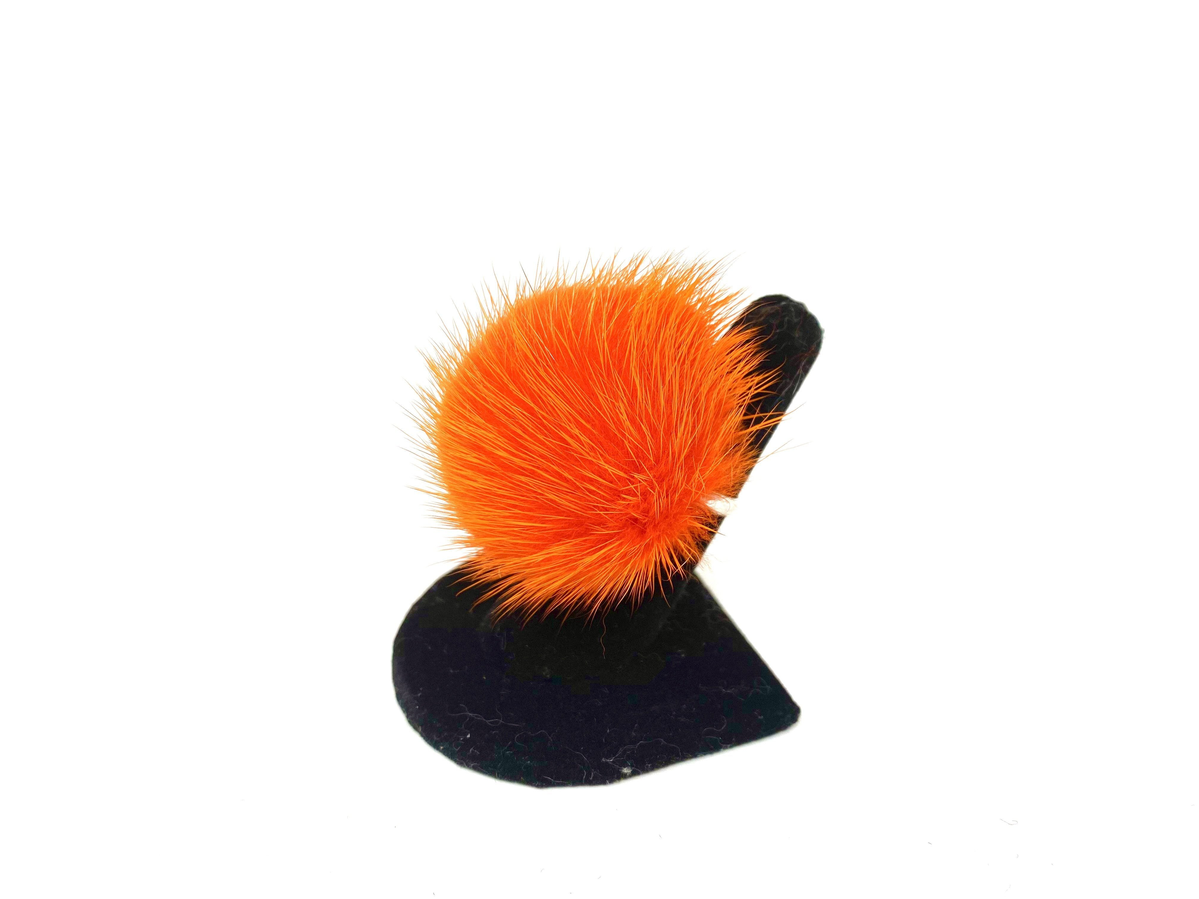Orange Fur Ring