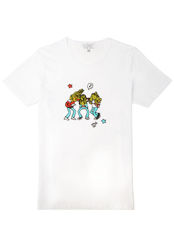 COURANT PARTY ON WAYNE GRAPHIC TEE - Courant Limited - 1