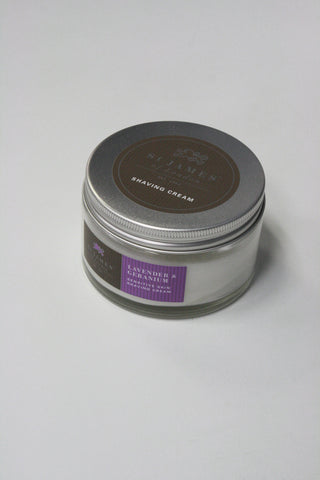 Lavender and Geranium Shave Cream