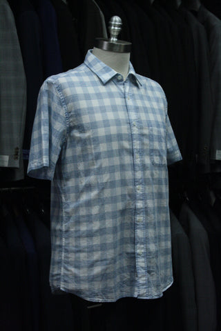 Cloud Blend Gingham Short Sleeve