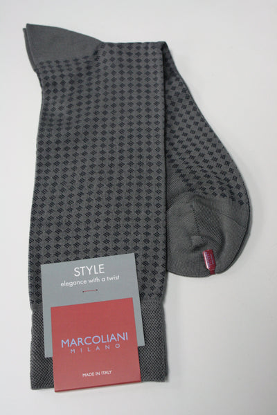 Micro Diamonds Mid-Calf Sock