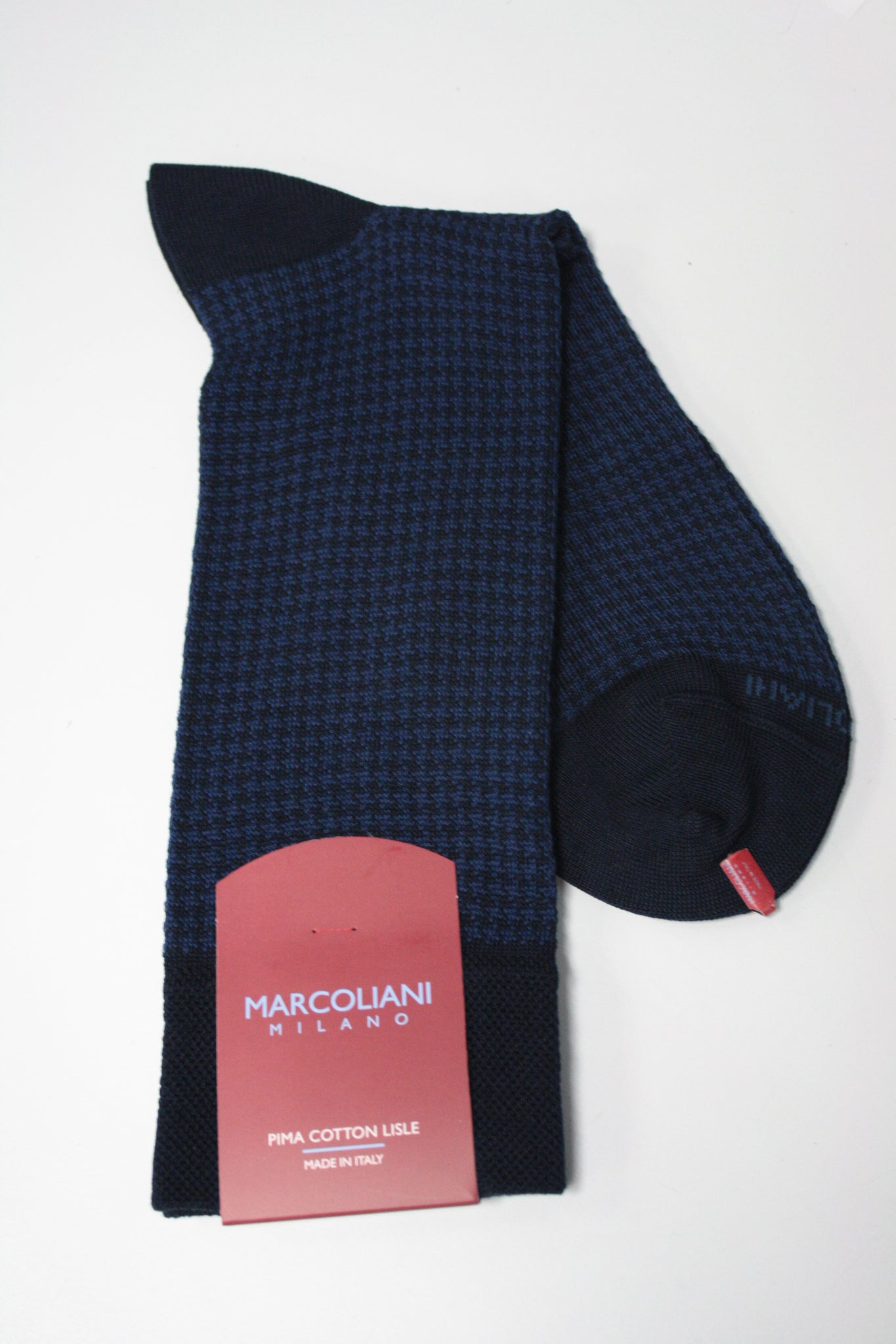 Houndstooth Mid-Calf Sock