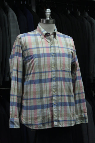 Mumbai Madras Oxford Button-down
