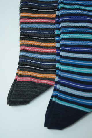 Inset Stripe Sock