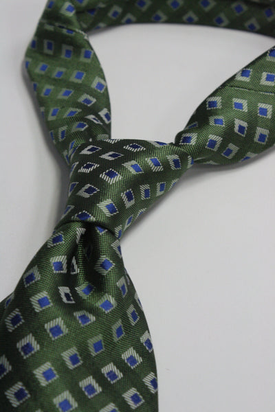 Green Diamonds Tie