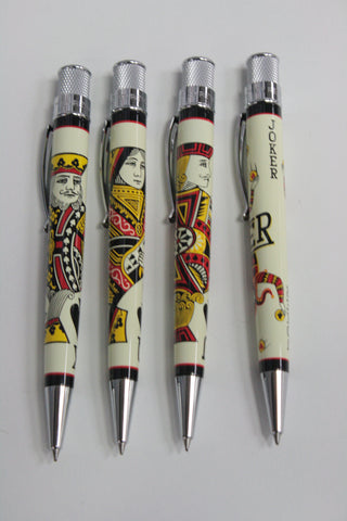 Face Card Rollerball Pen