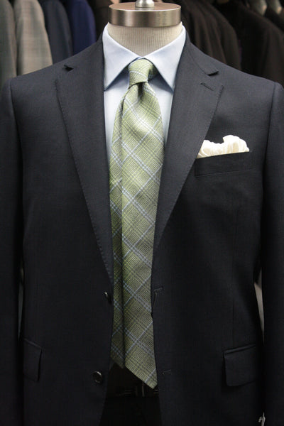 Grass Green Glen Plaid Tie