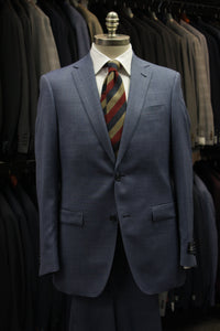 Sky Blue Melange Suit