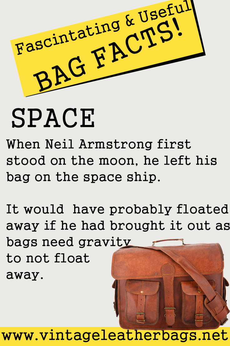 Vintage leather bags facts