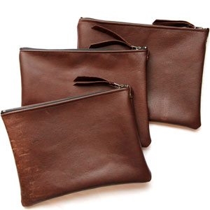 Toronto Creative Genius Sets to on Settee Vintage Leather Bags