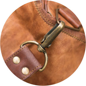 What goes in to your bag Vintage Leather Bags